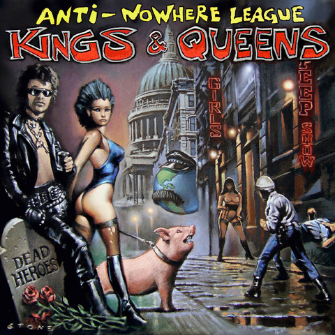 Kings,and,Queens,CD,Music, CD, Punk, Anti Nowhere League, Rock, Metal