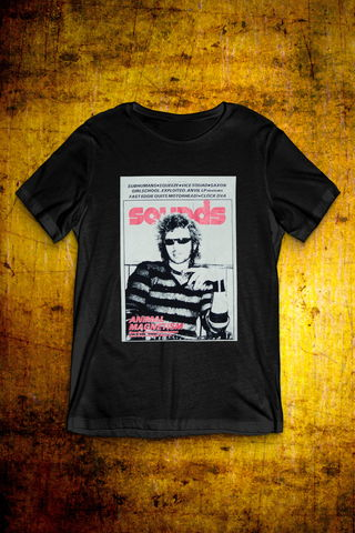Sounds,Cover,-,Sitting,T,Shirt,T Shirt, Punk, Anti Nowhere League, Rock, Metal