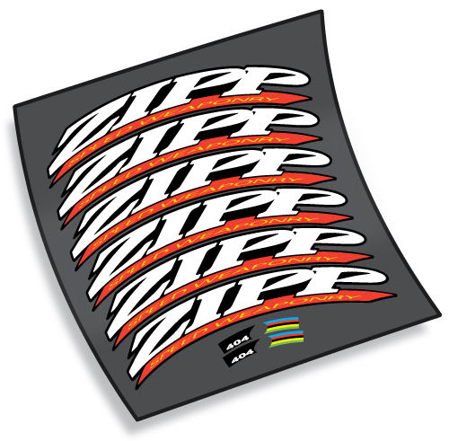 2005 ZIPP Speed Weaponry Wheel Decals - product images