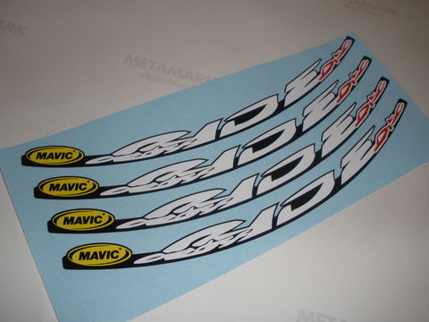 Mavic,CrossRIDE,Disc,Wheel,Decals,Mavic CrossRIDE Disc Wheel Decals stickers autocollants pegatinas adesivi Aufkleber adesivos klistermärken calcomanías