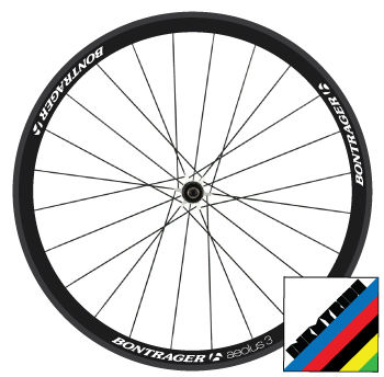 Bontrager,Aeolus,3,Wheel,Decals,Bontrager Aeolus 3 Wheel Decals stickers autocollants pegatinas adesivi Aufkleber adesivos klistermärken calcomanías