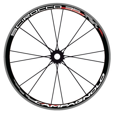 Campagnolo Scirocco 35 Road Wheel Decals - product images