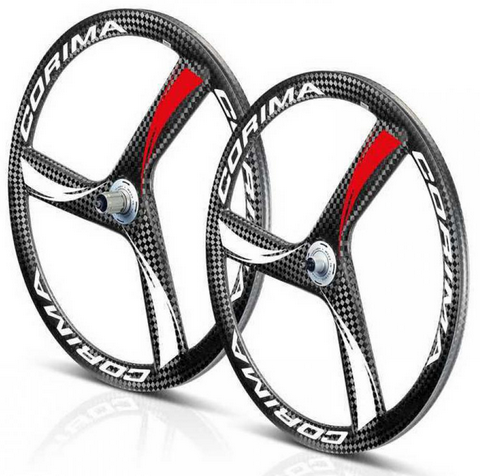 2017,Corima,3,spoke,Wheel,Decals,2017 Corima 3 spoke Wheel Decals