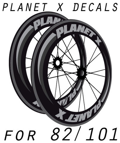 PLANET,X,82/101/Disc,style,wheel,decals,stickers,Planet X 82/101 style wheel decals stickers autocollants pegatinas adesivi Aufkleber adesivos klistermärken calcomanías