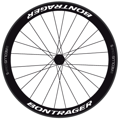 Bontrager,Aeolus,COMP,5,Wheel,Decals,Bontrager Aeolus 5 COMP Wheel Decals stickers adhesives pegatinas
