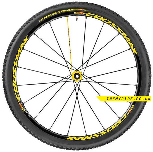 Mavic Crossmax SL Pro Wheel Decals - product images  of