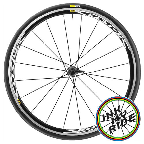 Mavic Cosmic ELITE UST Wheel Decals - product images  of