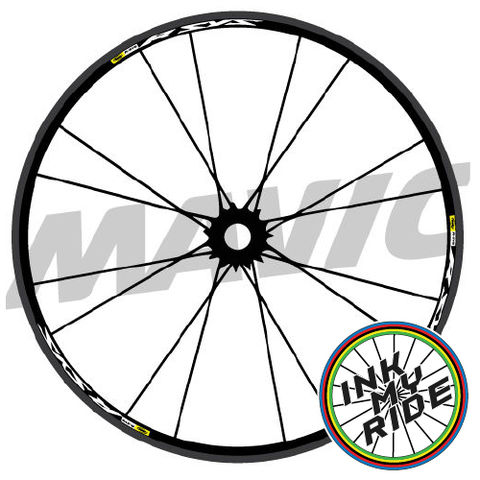 Mavic,R,SYS,Wheel,Decals,Mavic R SYS Wheel Decals stickers autocollants pegatinas adesivi Aufkleber adesivos klistermärken calcomanías