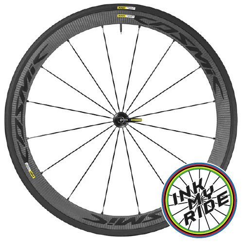 Mavic Cosmic Carbone 40 Elite Wheel Decals - product images  of