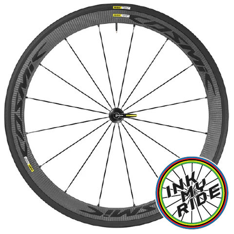 Mavic,Cosmic,Carbone,40,Elite,Wheel,Decals,2019 Mavic COSMIC CARBONE 40 ELITE Wheel Decals stickers autocollants pegatinas adesivi Aufkleber adesivos klistermärken calcomanías