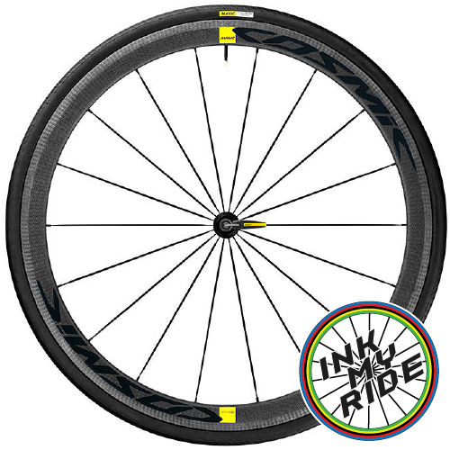 2019 Mavic Cosmic Wheel Decals Stickers - product images  of