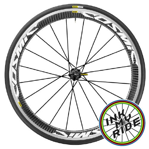 Mavic Cosmic SLS Wheel Decals - product images  of