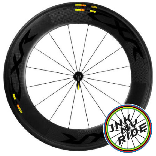 Mavic CXR 80 Wheel Decals - product images  of
