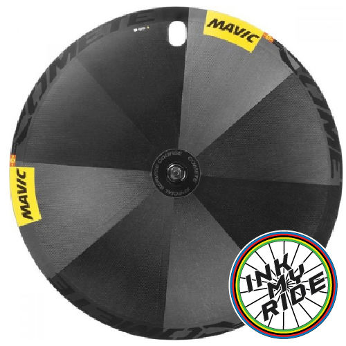 Mavic Comete Track Disc Wheel Decals - product images  of