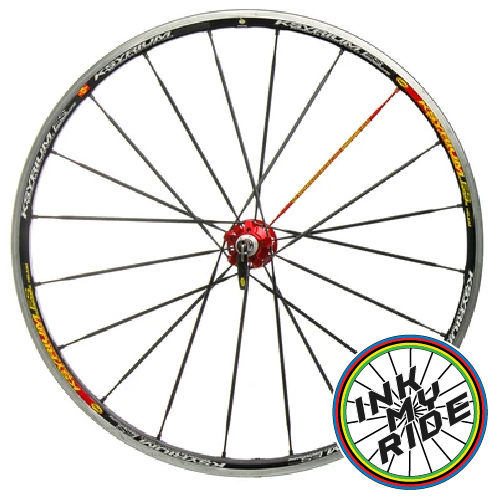 Mavic Ksyrium Edition Speciale Anniversaire Wheel Decals - product images  of