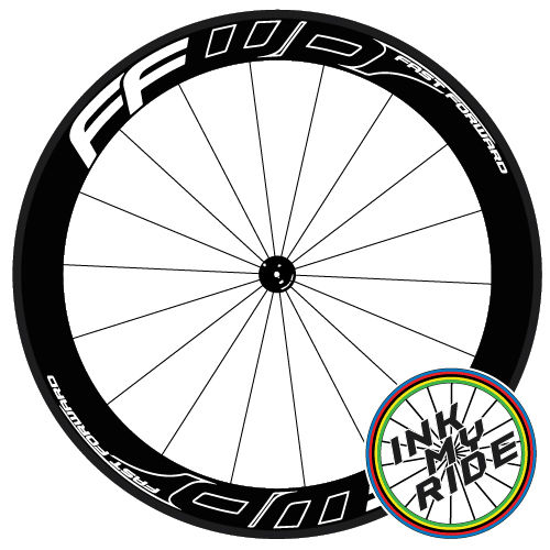FFWD Fast Forward Outline Effect Wheel Decals - product images  of