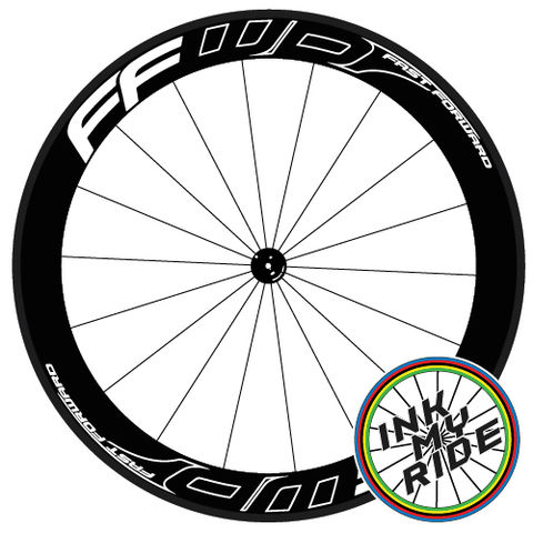 FFWD,Fast,Forward,Outline,Effect,Wheel,Decals,FFWD Fast Forward outline effect F4R F5R F6R F9R DISC Wheel Decals stickers autocollants pegatinas adesivi Aufkleber adesivos klistermärken calcomanías