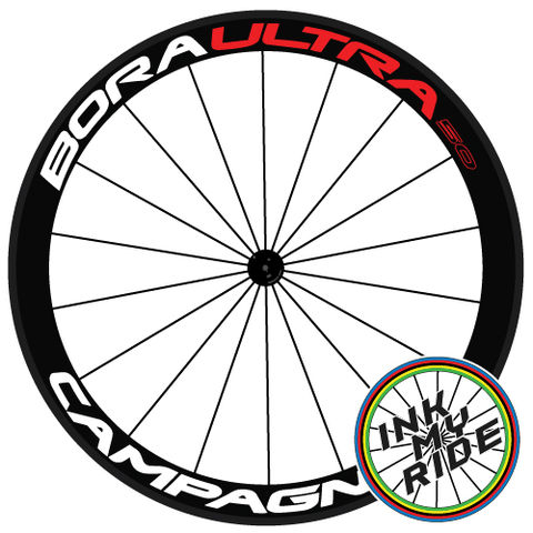 Campagnolo,Bora,Ultra,50,Wheel,Decals,Campagnolo Bora Ultra 50 Wheel Decals stickers autocollants pegatinas adesivi Aufkleber adesivos klistermärken calcomanías