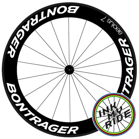 Bontrager,Aeolus,7,TLR,Wheel,decals,stickers,Bontrager Aeolus 7 TLR Wheel decals stickers autocollants pegatinas adesivi Aufkleber adesivos klistermärken calcomanías