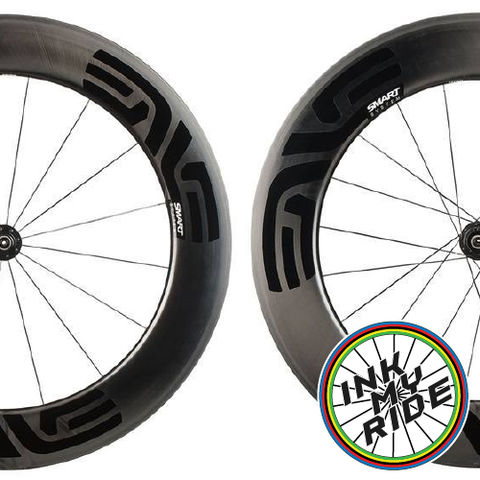 ENVE,8.9,SES,Wheel,Decals,ENVE 8.9 SES Rim Brake Wheel Decals Stickers autocollants pegatinas adesivi Aufkleber adesivos klistermärken calcomanía
