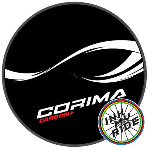 2020,Corima,Carbon,Plus,Disc,Wheel,Decals,Stickers,Corima Carbon Plus + Disc Wheel Decals Stickers autocollants pegatinas adesivi Aufkleber adesivos klistermärken calcomanías
