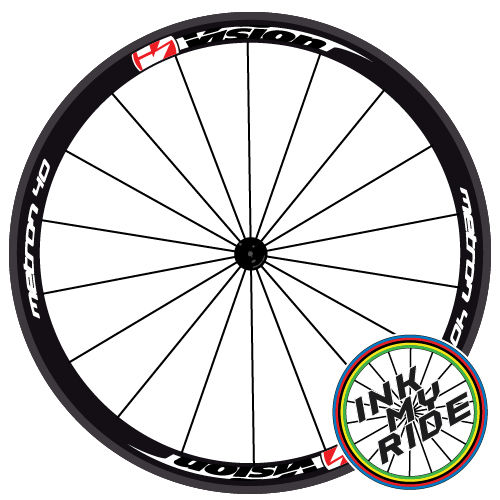 Vision Metron 40 Wheel Decals - product images