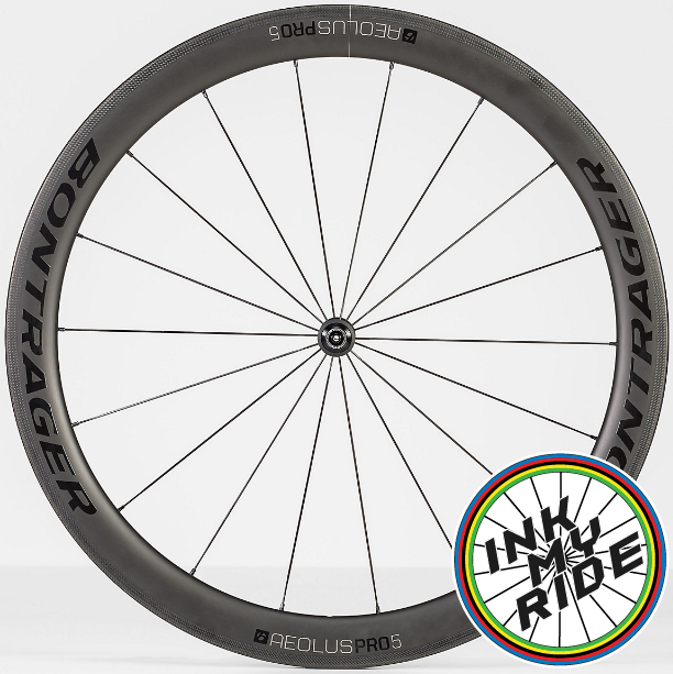 Bontrager Aeolus PRO 5 Wheel Decals - product images  of