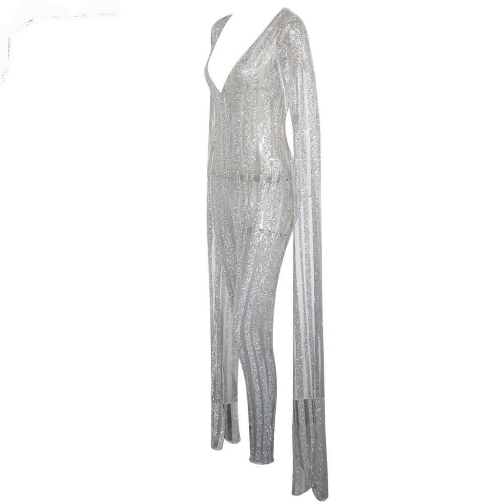 Angel Drop Sleeve Jumpsuit - product images  of