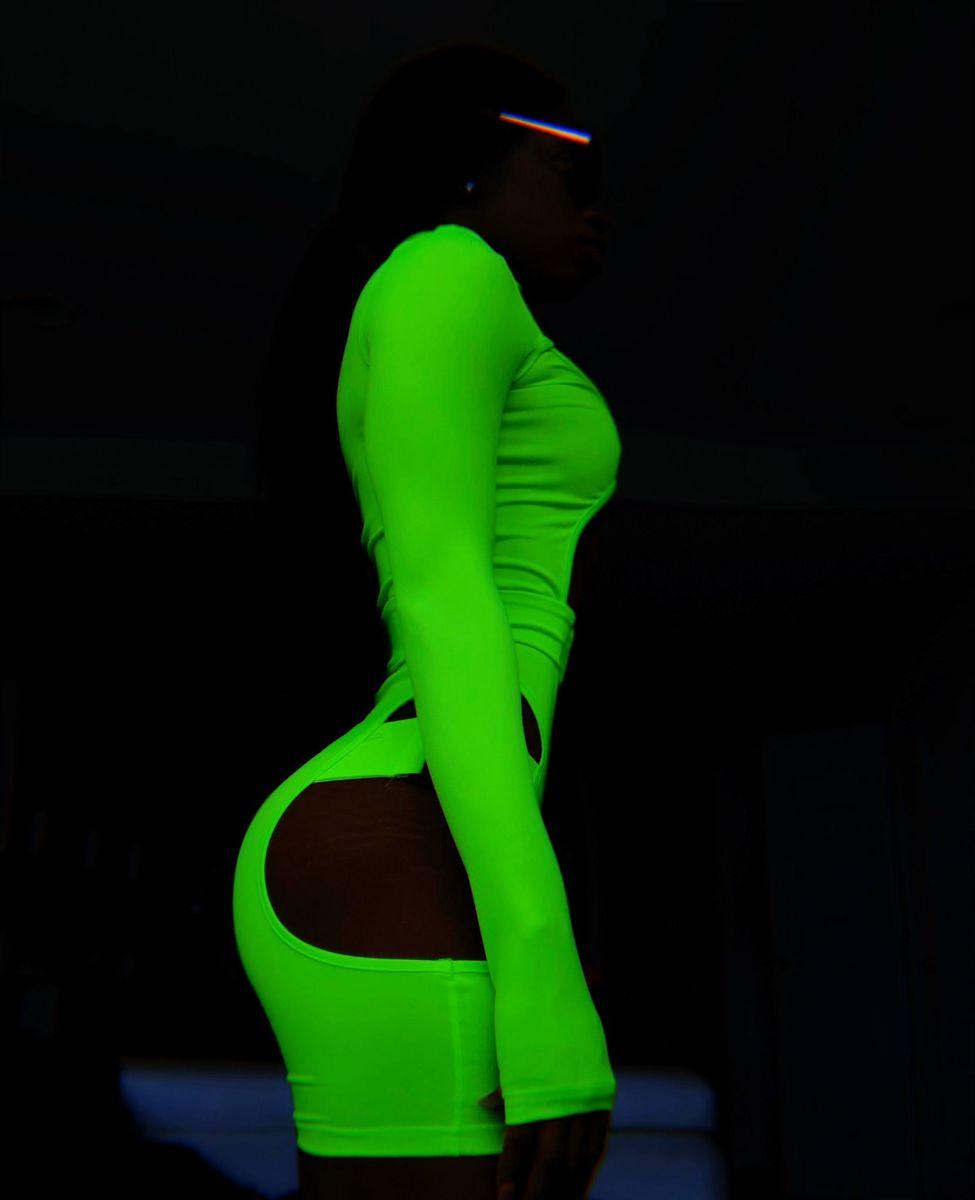 c2fb4dc8e1c Get The STRAP Neon Bodysuit - Queen Labels