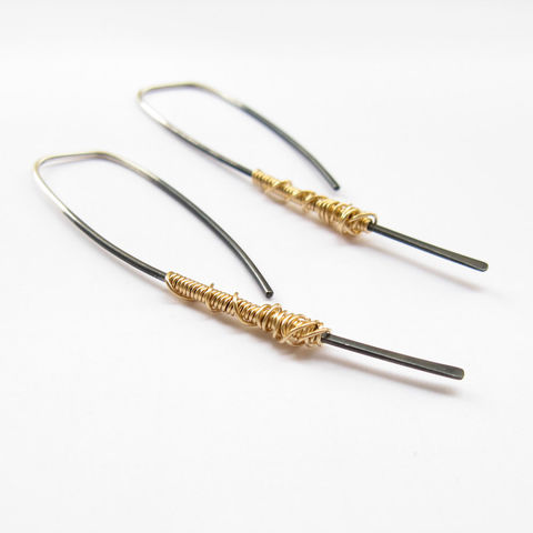 Simple,Dangle,Earrings-,Modern,Silver,Hoop-,Open,Hoop,Oxidized-,Minimalist,Earrings,Jewelry,sterling_silver,simple_dangle,black_and_gold,modern_earrings,long_dangle_earrings,contemporary_earring,simple_silver_dangle,urban_earrings,oxidized,europeanstreetteam,minimalist_earrings,BoxingDaySale,oxidized_earrings