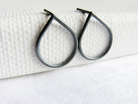 Oxidized,RainDrop,silver,stud,,simple,sterling,post,earrrings,Jewelry,Earrings,Post,misluo,sterling_silver_post,drop_earrings,europeanstreetteam,droplet,sliver_stud,modern_post_earrings,CIJ,oxidized_silver_stud,simple_post_earrings,raindrop_stud,raindrop_earrings,minimalist_earrings