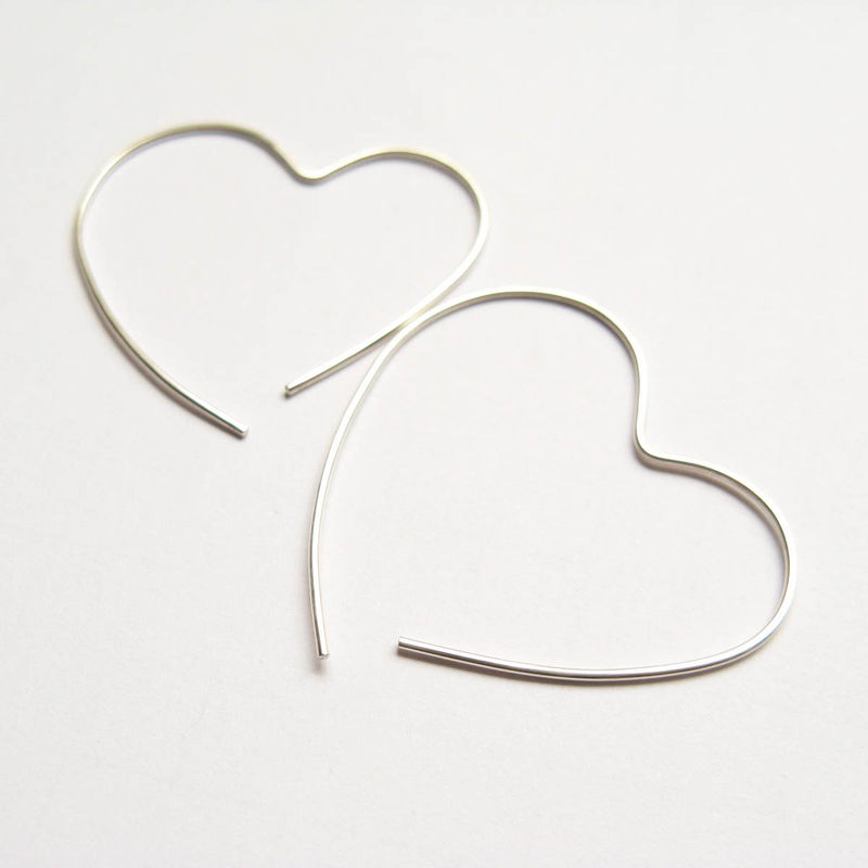 Open Heart Hoop - product images  of