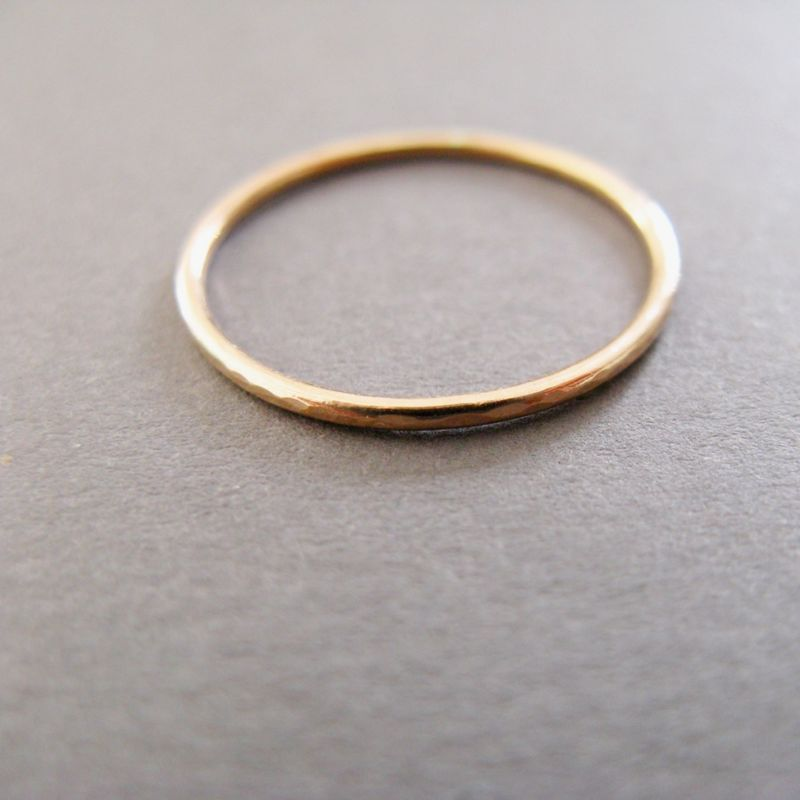 9ct Yellow Gold Slim Ring - product images  of
