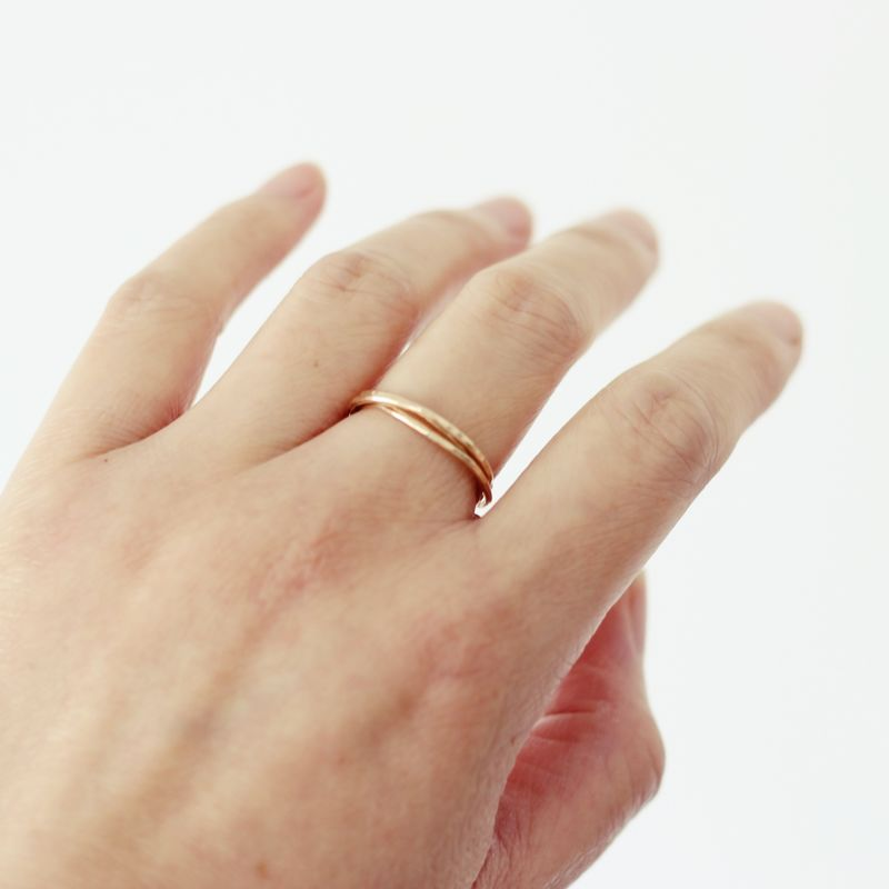 9ct Gold Interlocking ring - product images  of
