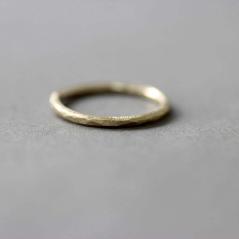 9ct Gold Slim Wedding Band - product images  of