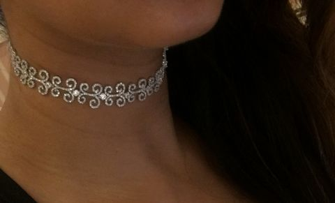 Scroll Choker and Bracelet  - product images  of