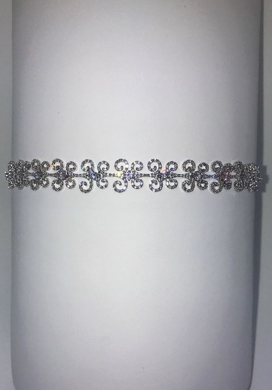 Scroll Choker and Bracelet  - product image
