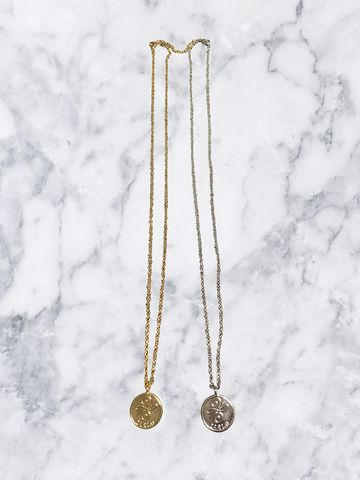 Zari.D,Delicate,long,coin,necklace