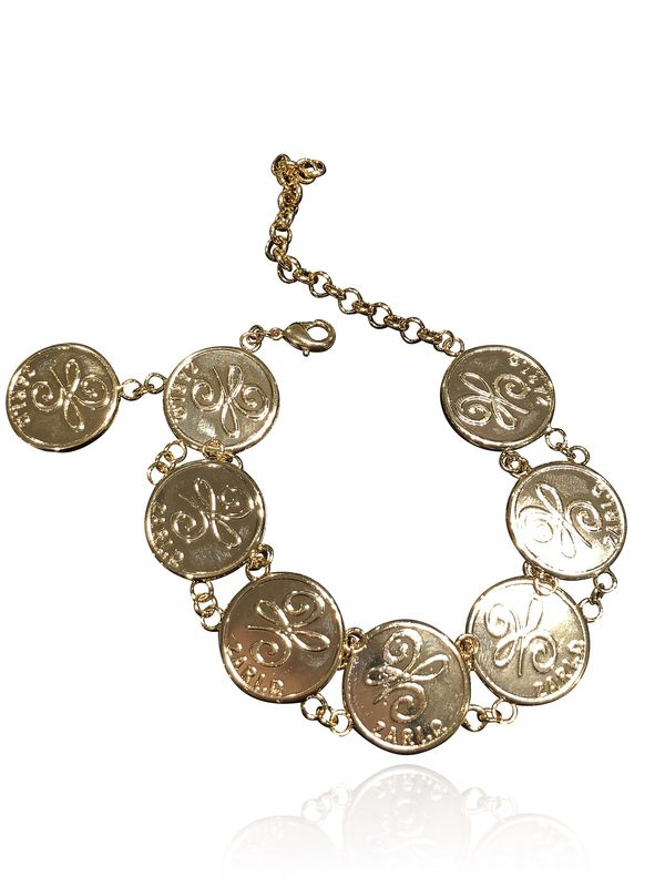 Zari.D multi-coin bracelet  - product images  of