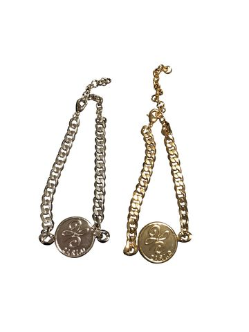 Zari.D,single,coin,bracelet