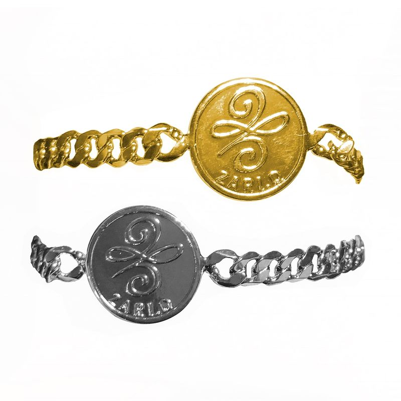Zari.D single coin bracelet  - product images  of