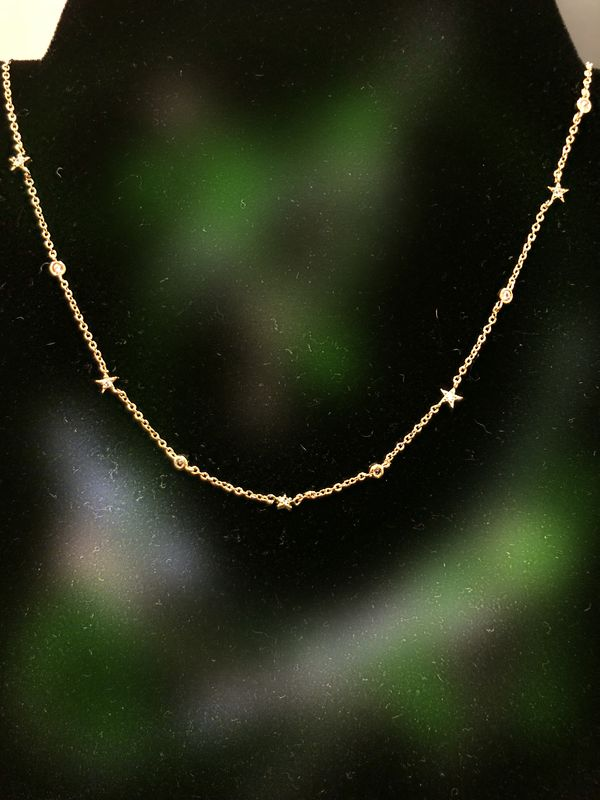 Delicate star and bezel  - product images  of