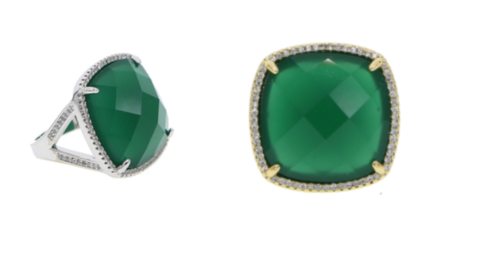 Crystal,Emerald,ring