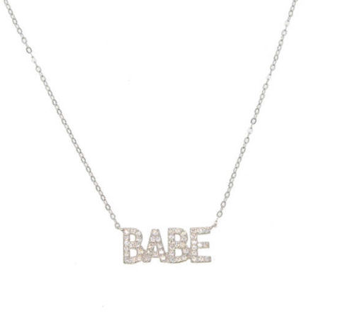 Babe,necklace
