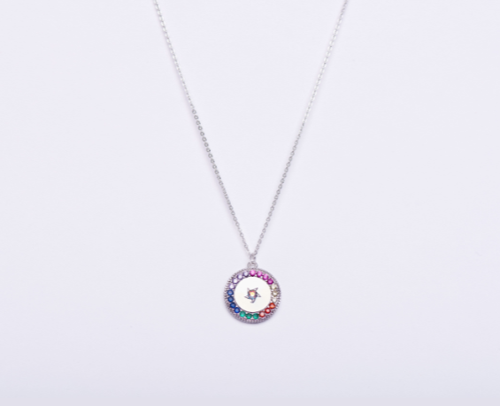 RAINBOW CZ COIN - product image