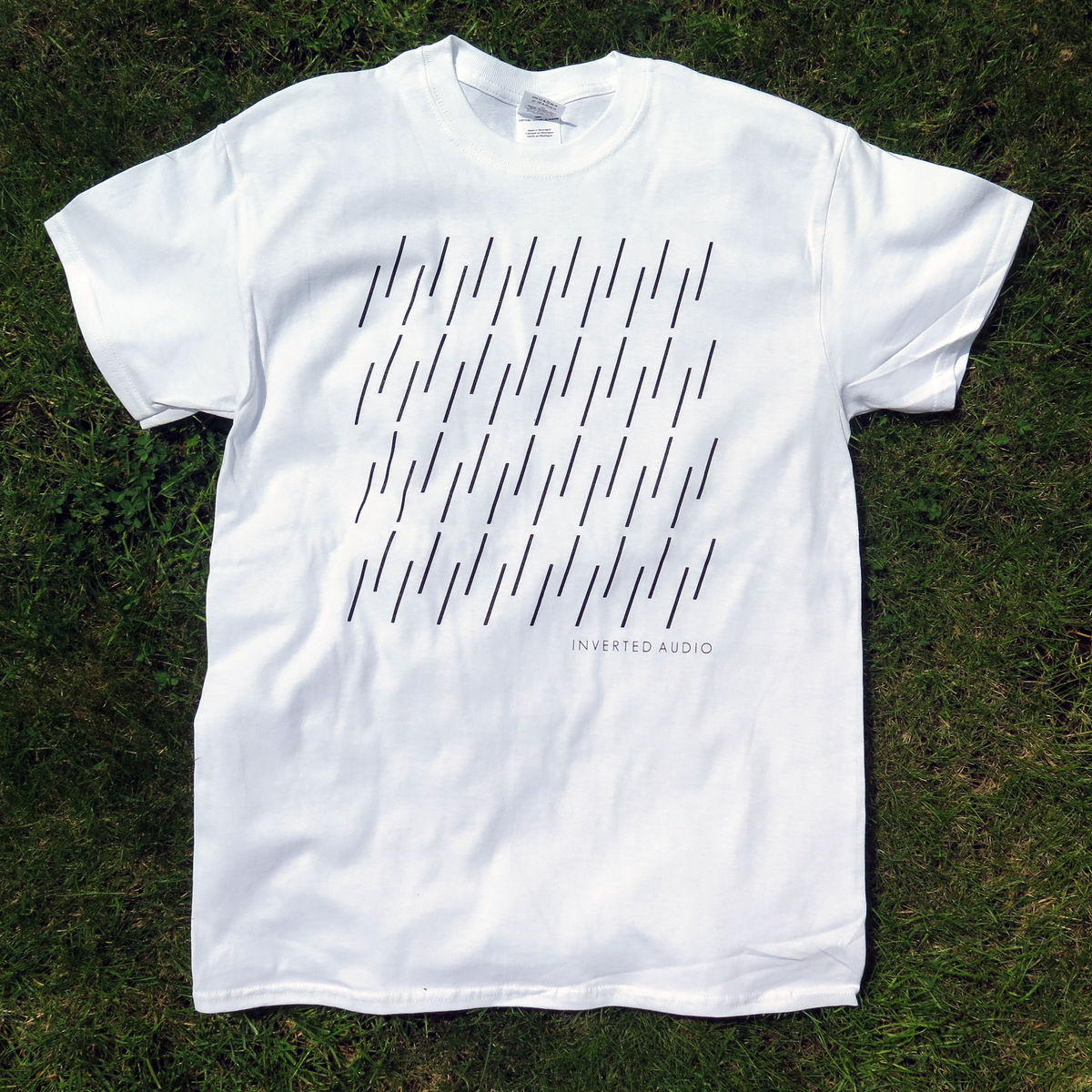 Inverted Audio - White T-Shirt - product images  of