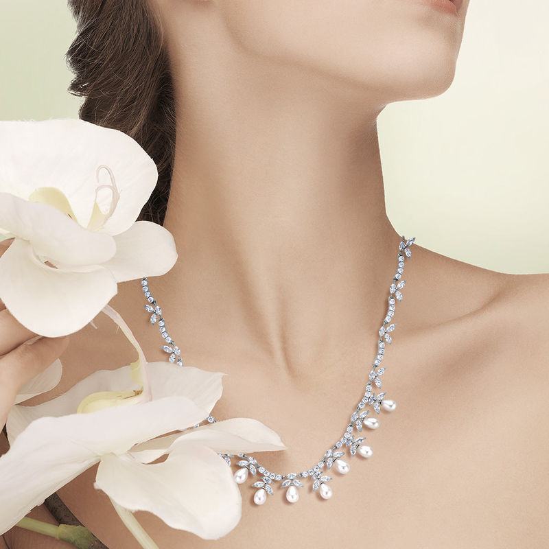 Emilia Bridal Necklace Set  - product image