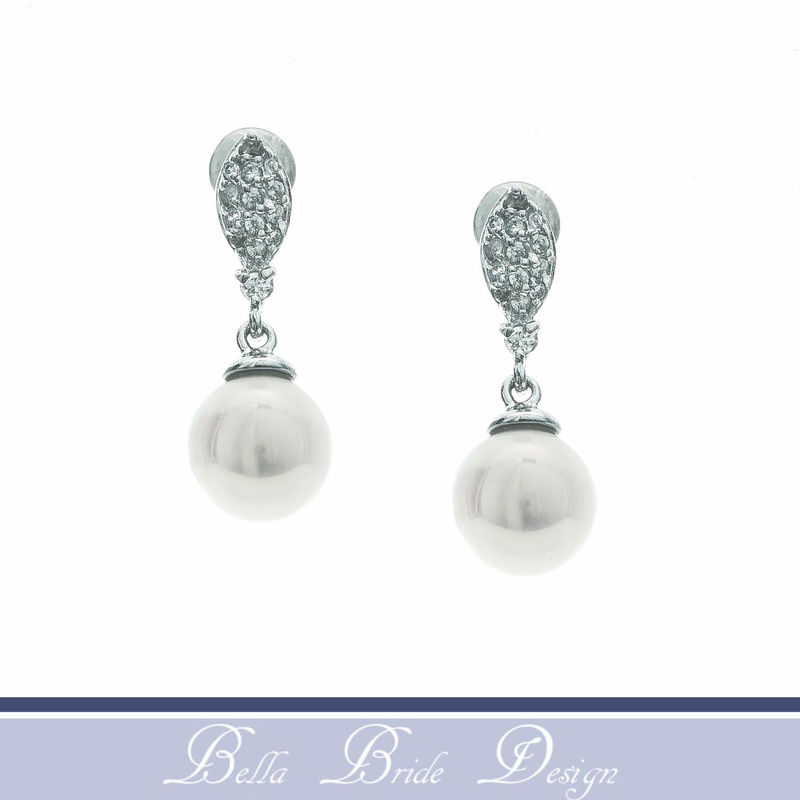 Lilith Bridal Earrings - product image