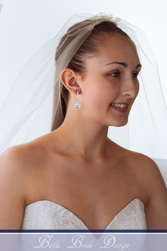 Evelyn Bridal Earrings - product image