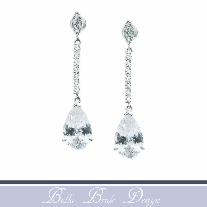Layla Bridal Earrings - product image